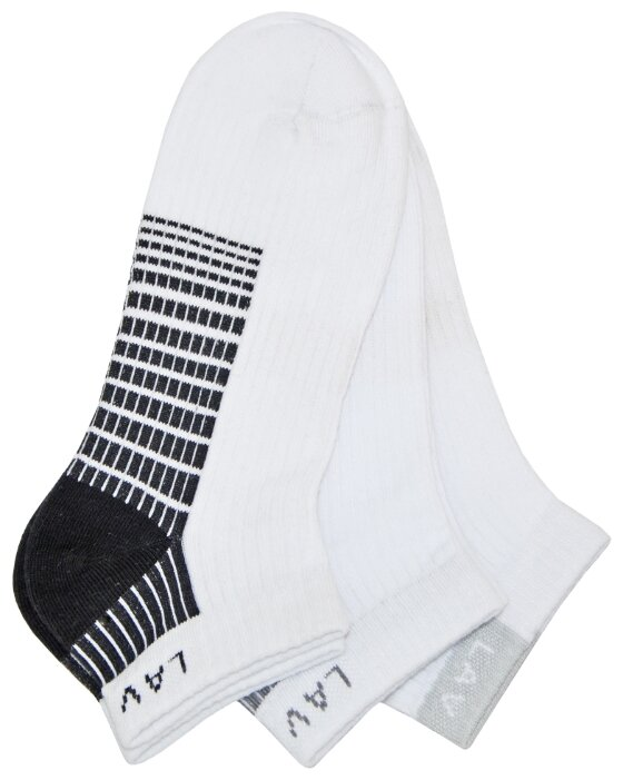 Носки LAV размер 22-24, белый