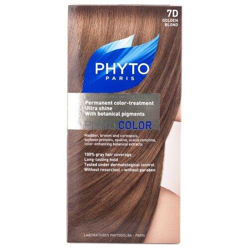 PHYTO Phytocolor краска для волос, 7D Золотистый блонд phyto для волос официальный сайт