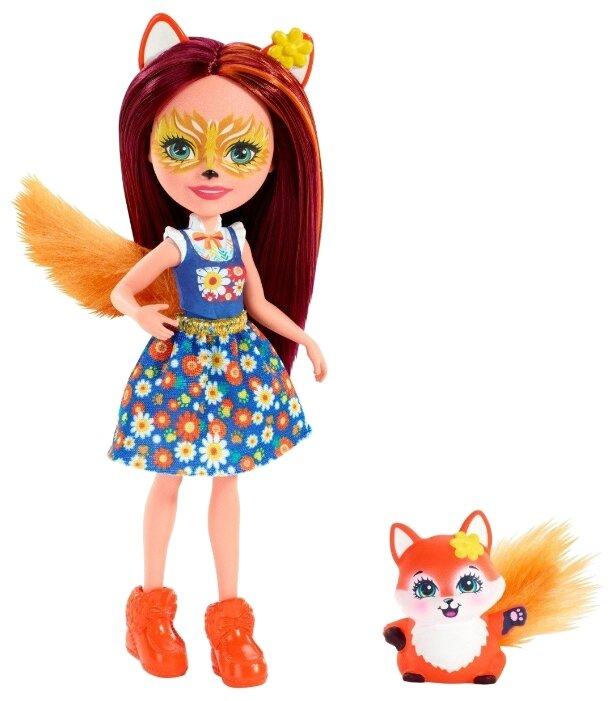 Кукла Enchantimals Фелисити Лис с любимой зверюшкой, 15 см, FXM71 — купить по выгодной цене на Яндекс.Маркете