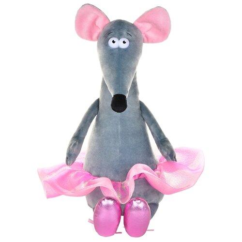 Мягкая игрушка Maxitoys Крыска Лариска балерина 34 см