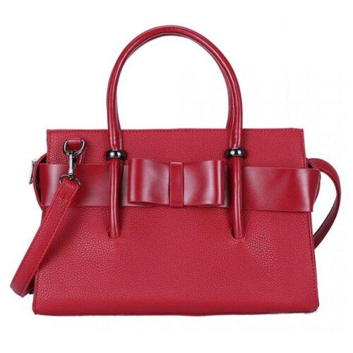 Сумка OrsOro, искусственная кожа, темно-красный сумка тоут orsoro cw 967