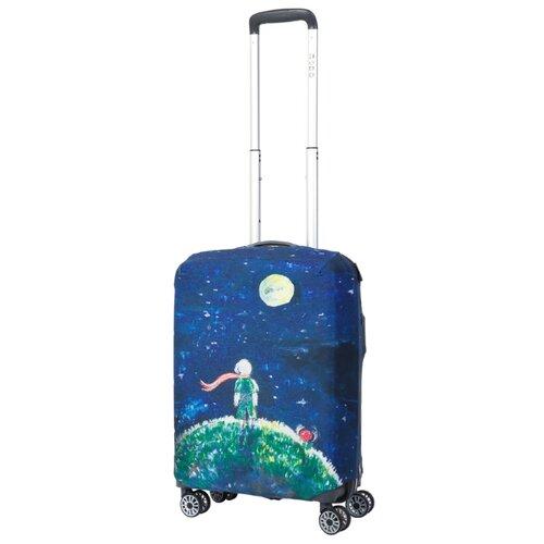 Фото - Чехол для чемодана METTLE Little Prince S, синий/зеленый little prince