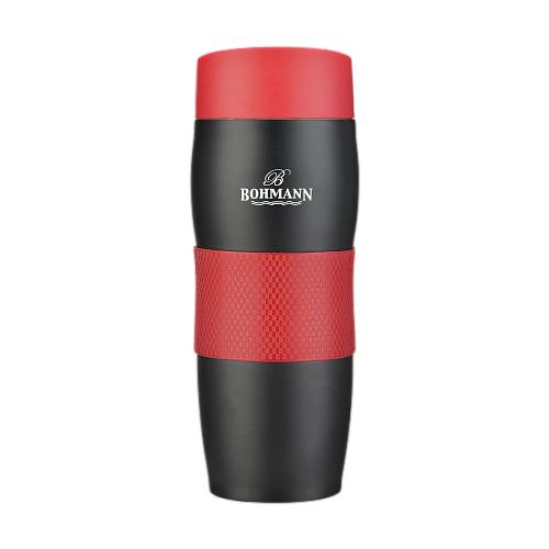 Термокружка Bohmann BH-4457, 0.375 л красный