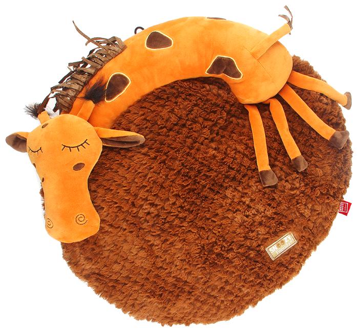 Лежак для кошек и собак Gigwi Snoozy Friendz Жираф 3D 75416