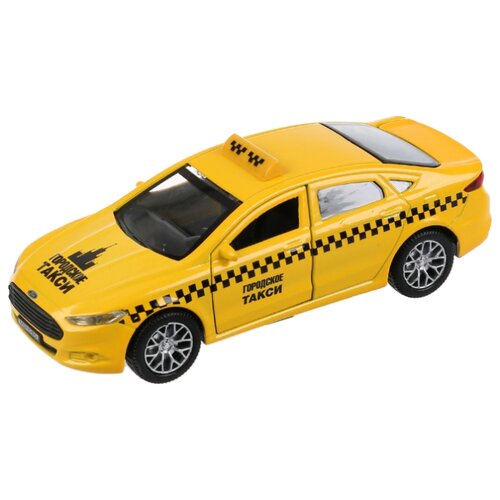 цена на Легковой автомобиль ТЕХНОПАРК Ford Mondeo (MONDEO-T) 12 см желтый