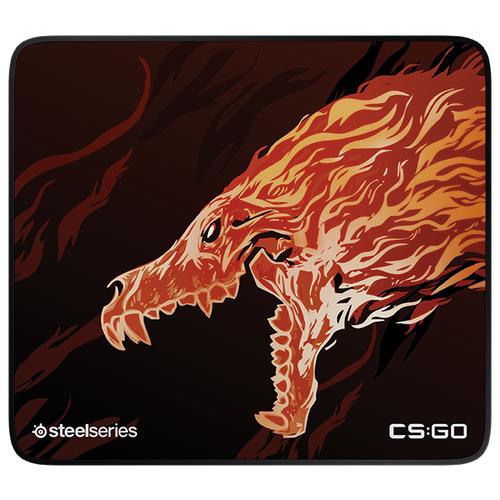 Купить Коврик SteelSeries QcK+ Limited CS:GO Howl Edition Рисунок