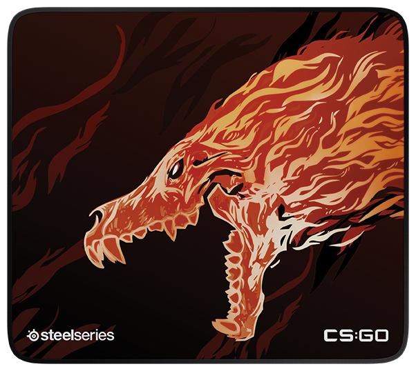 Коврик SteelSeries QcK+ Limited CS:GO Howl Edition