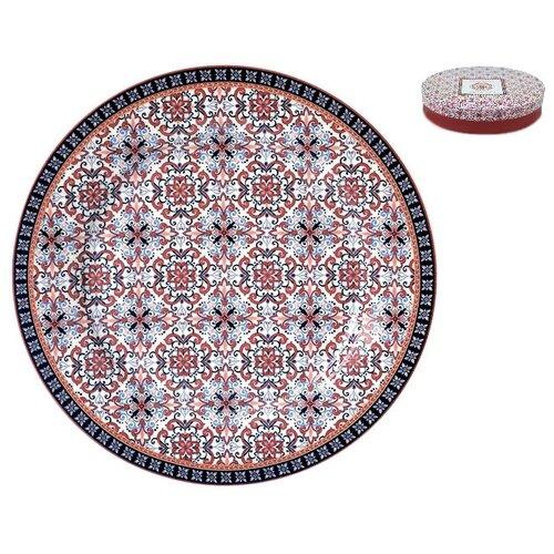 Коралл Набор обеденных тарелок Mauritania 24 см 4 шт набор тарелок 24 см thun