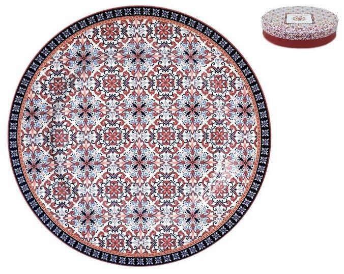Коралл Набор обеденных тарелок Mauritania 24 см 4 шт