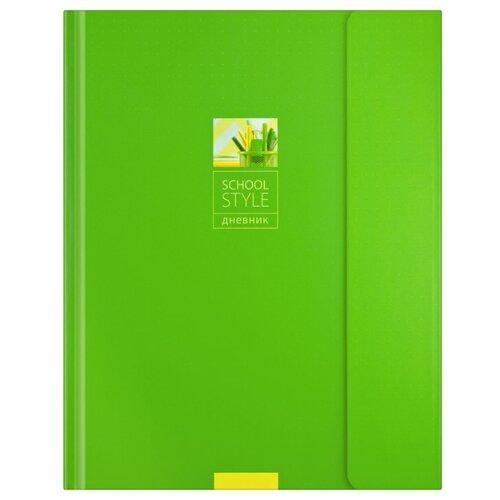 Купить ArtSpace Дневник школьный Зеленый минимализм зеленый, Дневники