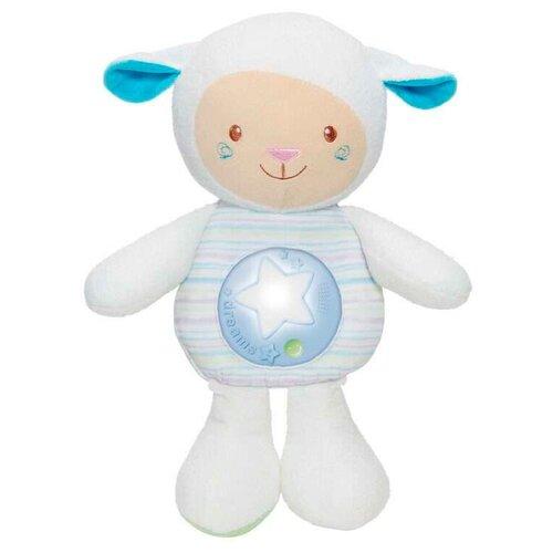 Игрушка-ночник Chicco Овечка голубая 30 см интерактивные игрушки chicco овечка lullaby музыкальная