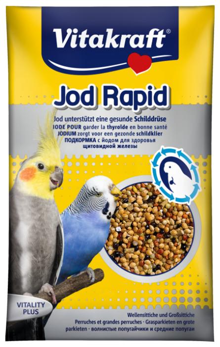 Добавка в корм Vitakraft для волнистых попугаев с йодом