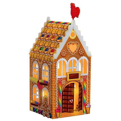 Сборная модель Клеvер фонарик-домик Пряничный (АБ 42-566) клеvер набор для творчества фонарик домик розовый вечер аб 42 565
