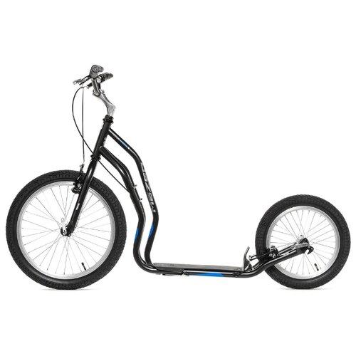 цена на Внедорожный самокат Yedoo Mezeq New V-brake черный/синий