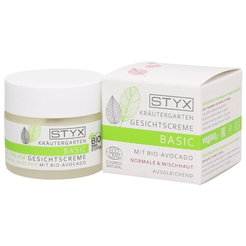 STYX Basic Mit Bio-Avocado Крем с авокадо для нормальной и комбинированной кожи лица, 50 мл  - Купить