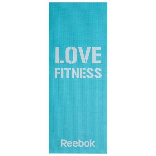 Коврик (ДхШхТ) 173х61х0.4 см REEBOK Love RAMT-11024L голубой reebok 4 кг штука голубой [rawt 11054cy]
