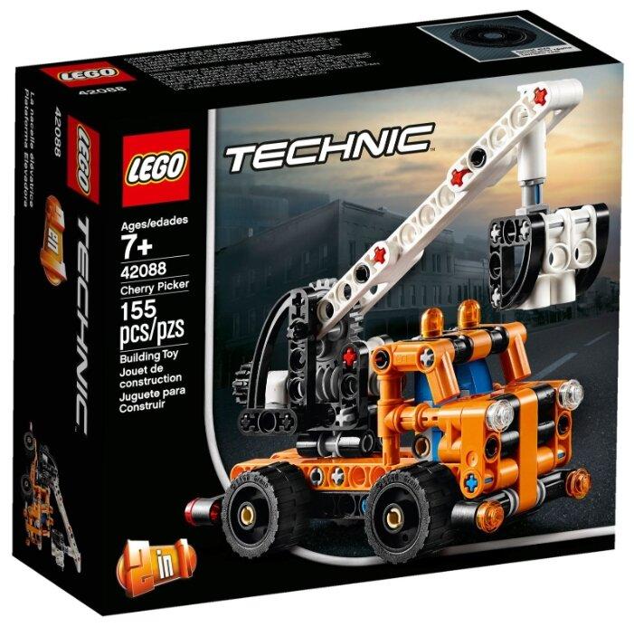 Конструктор LEGO Technic 42088 Ремонтный автокран — купить по выгодной цене на Яндекс.Маркете – 11 предложений