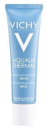 Vichy Aqualia Thermal крем увлажняющий насыщенный для сухой и очень сухой кожи лица