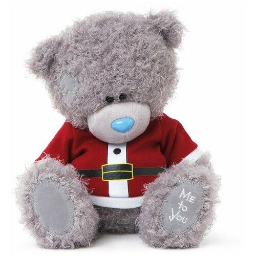 Мягкая игрушка Me to you Мишка Тедди в кафтане Санта-Клауса 23 см