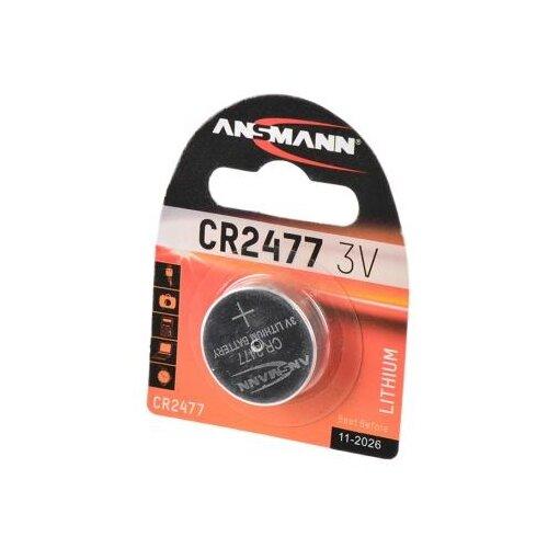 Фото - Батарейка ANSMANN CR2477, 1 шт. футляр ansmann akku box 4000033