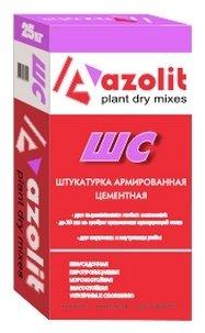 Штукатурка azolit ШС армированная, 25 кг