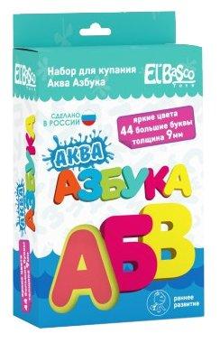 Набор для ванной El'BascoToys Аква Азбука (08-001)