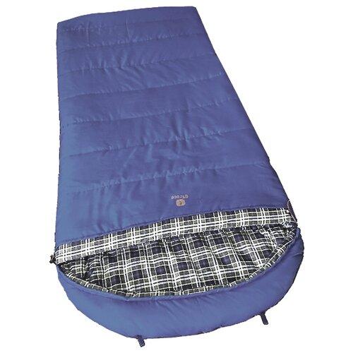 Спальный мешок Btrace Duvet blue с левой стороны