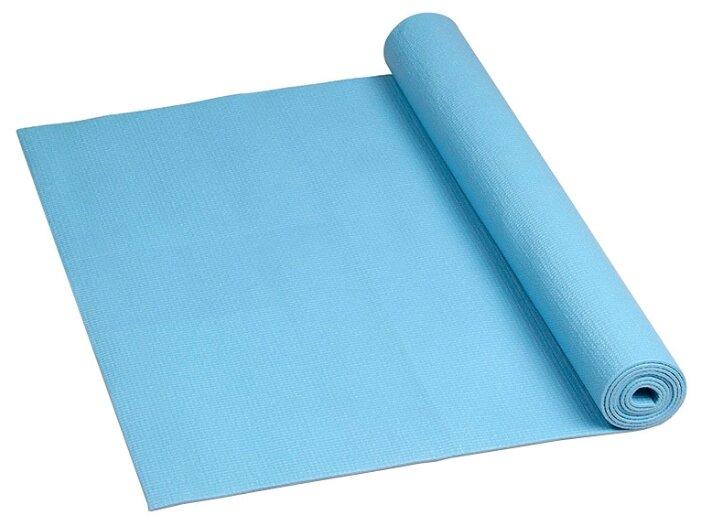 Коврик для йоги и фитнеса 61х173х0,8 см оранжевый
