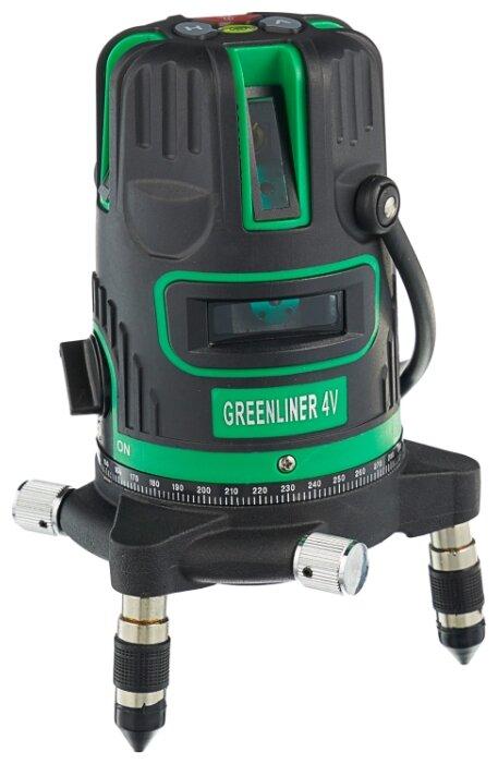Лазерный уровень INSTRUMAX GREENLINER 4V