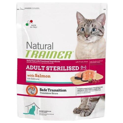 Корм для кошек TRAINER Natural Adult cat Sterilised Salmon dry (0.3 кг)