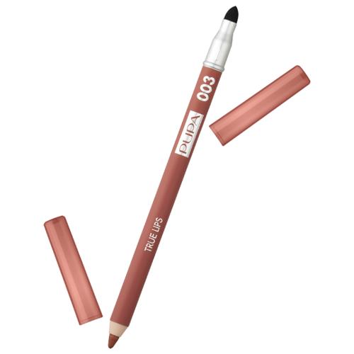 Фото - Pupa Карандаш для губ True Lips 003 golden biscuit pupa карандаш true eyebrow pencil оттенок 003 dark brown