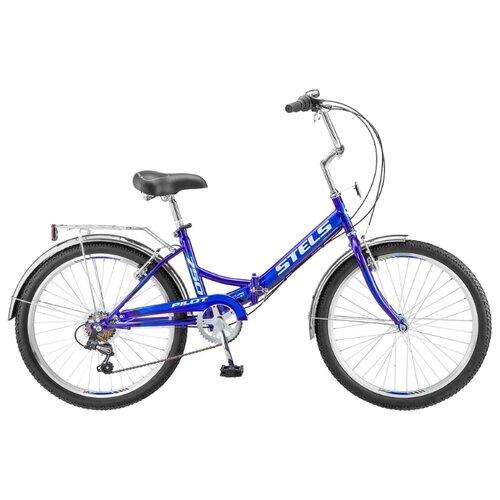 цена на Городской велосипед STELS Pilot 750 24 Z010 (2019) синий 16