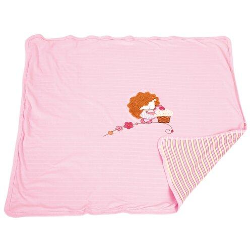 Плед Little People Ёжик Топа-Топ 85х85 см розовый, Покрывала, подушки, одеяла  - купить со скидкой