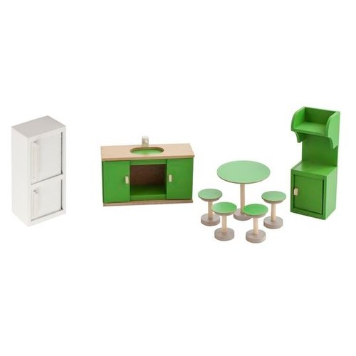 Фото - PAREMO Набор мебели для кухни (PDA417-03) белый/зеленый paremo набор мебели для ванной комнаты pda417 04 белый бежевый