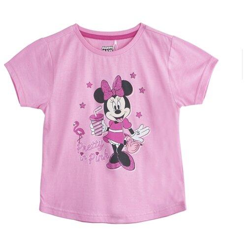 Футболка kari Minnie Mouse размер 5-6, розовыйФутболки и майки<br>