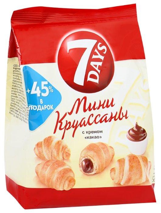 Мини-круассаны 7 Days с кремом какао, 105 г.