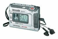 Кассетный плеер Panasonic RQ-L470GC-S. Пишущий на обычных аудиокассетах.