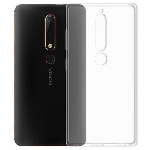 Чехол Gosso 175679 для Nokia 6.1 (2018) прозрачный