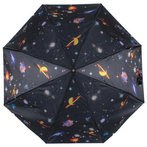 Зонт автомат FLIORAJ 190222 FJ черный рюкзак женский flioraj цвет черный 00058058