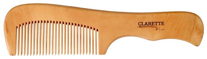 Clarette Расческа деревянная с ручкой CWC 485
