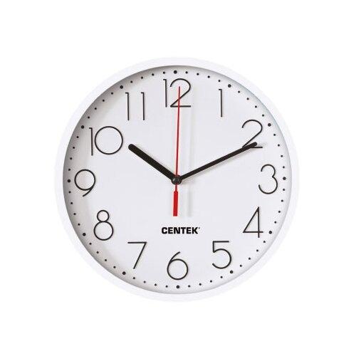 Часы настенные кварцевые CENTEK CT-7105 white
