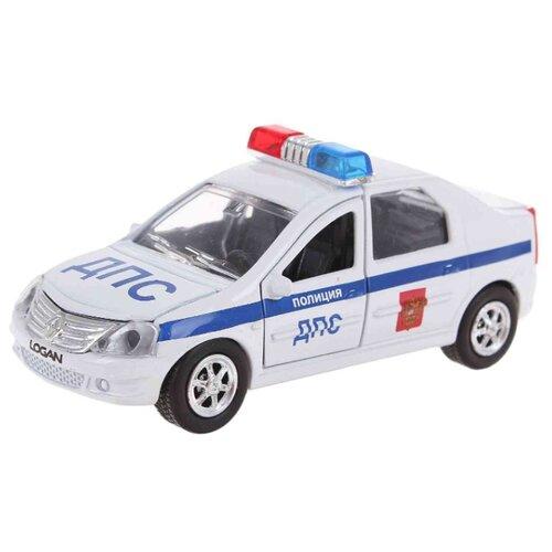 Фото - Легковой автомобиль ТЕХНОПАРК Renault Logan ДПС (SB-13-21-1) 1:43 белый sb 13 02 1