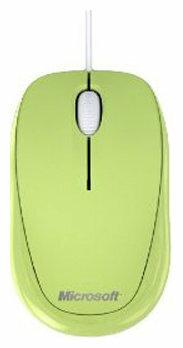 Мышь Microsoft Compact Optical Mouse 500 Green USB
