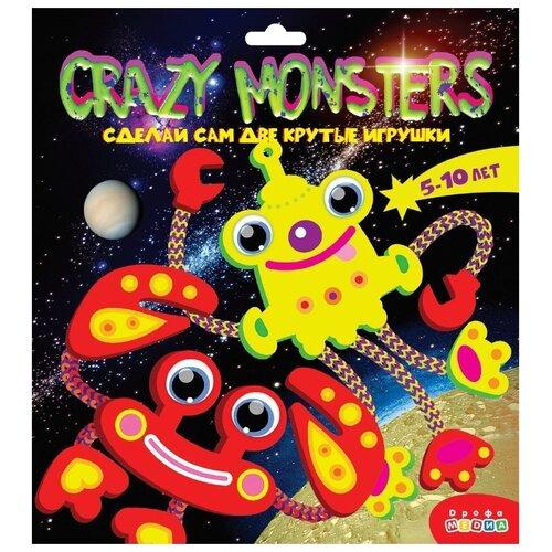Фото - Дрофа-Медиа Набор для творчества Crazy Monsters (3385) набор для творчества дрофа медиа мягкая картинка для малышей грузовичок