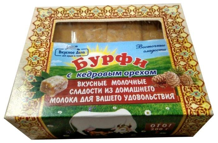 Бурфи Апромея с кедровым орехом 200 г