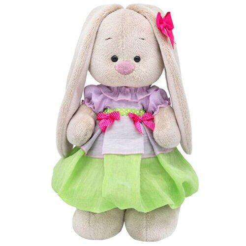 Мягкая игрушка Зайка Ми в весеннем платье 25 см мягкая игрушка зайка ми в платье в стиле кантри 25 см