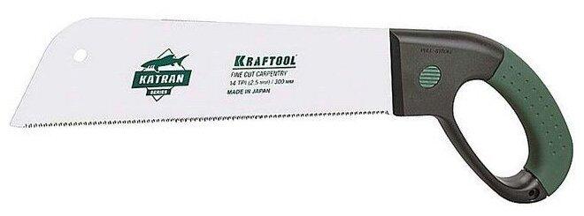 Ножовка по дереву Kraftool Katran Fine Cut Carpentry 1-15181-30-14 300 мм