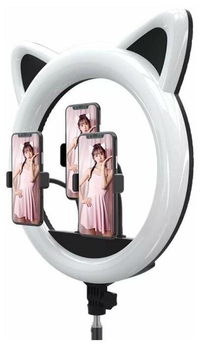 Кольцевой осветитель Okira LED RING CAT 408 (черный)