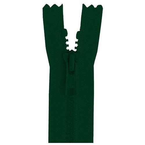 Купить YKK Молния тракторная разъёмная 4335956/50, 50 см, темно-зеленый/темно-зеленый, Молнии и замки