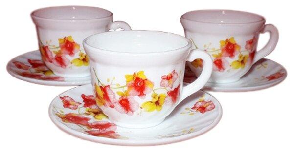 Чайный сервиз Huimeida Орхидеи